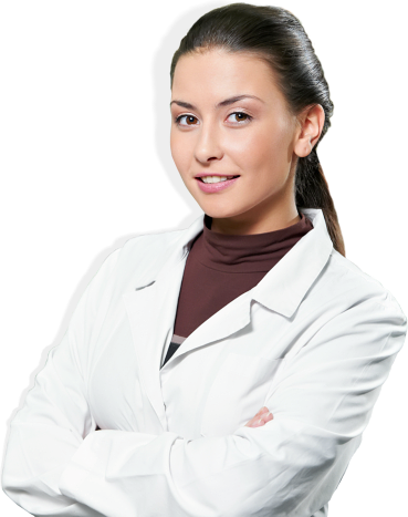 pharmacist crossing her arms
